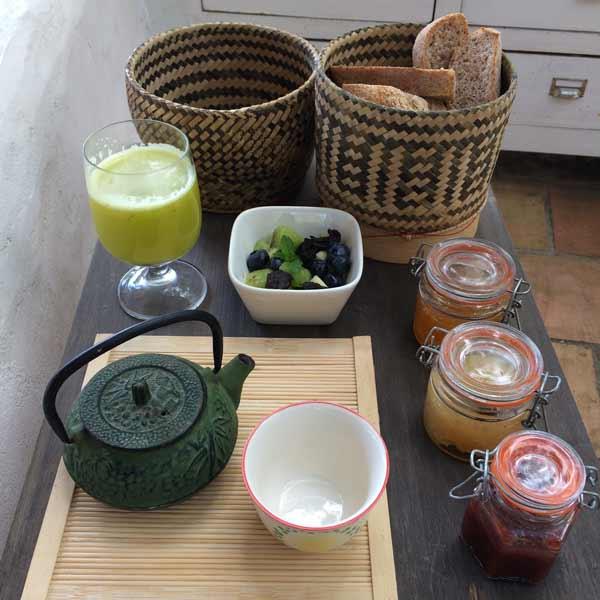Colazione a Casadisale: le marmellate fatte in casa biologiche