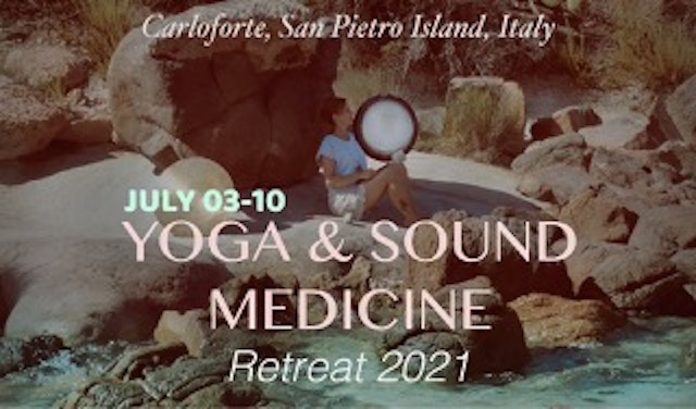 Gioia yoga retreat. From Sunday 20th June to Sunday, 27th June, 2021