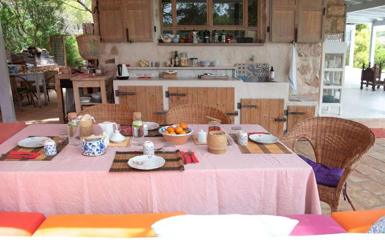 Casa di sale yoiga resort: la terrazza e la colazione