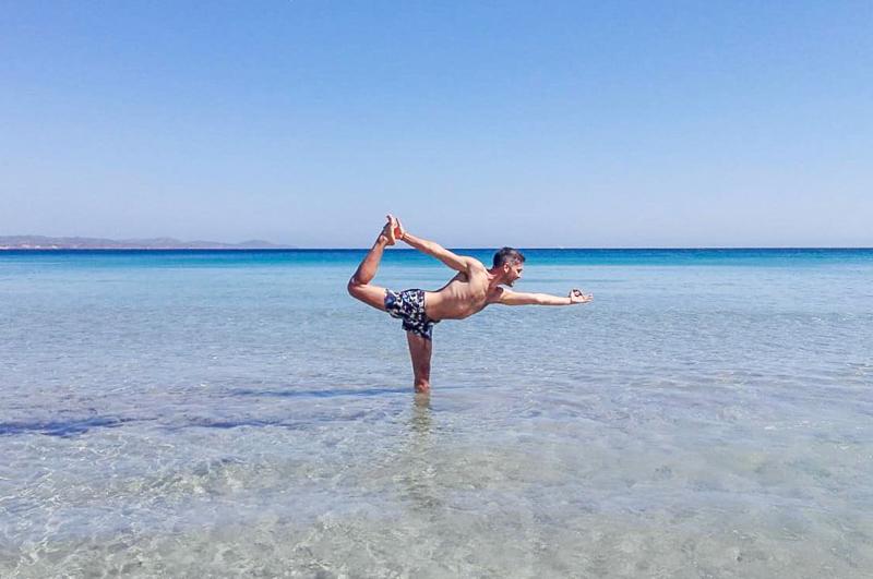 Yoga sulla spiaggia A Carloforte - Casa di sale