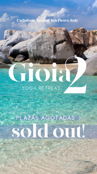 Gioia 2 yoga retreat is sold out