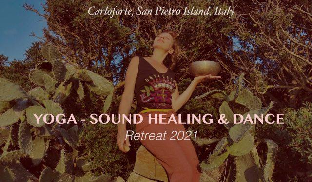 Ritiro yoga agosto 2021 Sardegna Carloforte